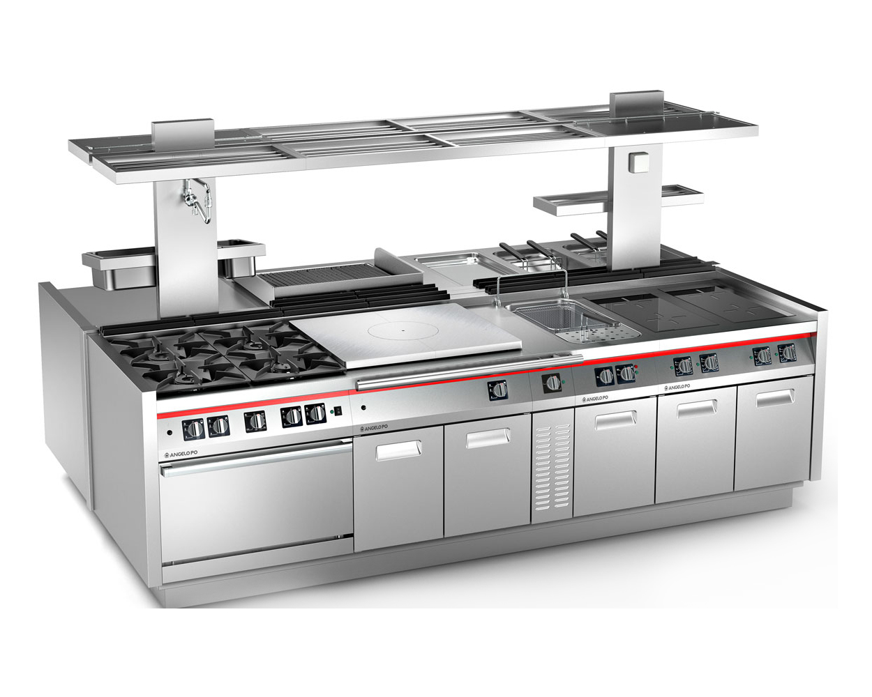 Cocinas industriales grup gevadri for Distribucion de cocinas industriales